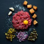 Ricette Battuta di Plinio con carne chianina IGP - Agricola San Giobbe