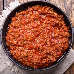 Ragù di carne chianina IGP - Agricola San Giobbe