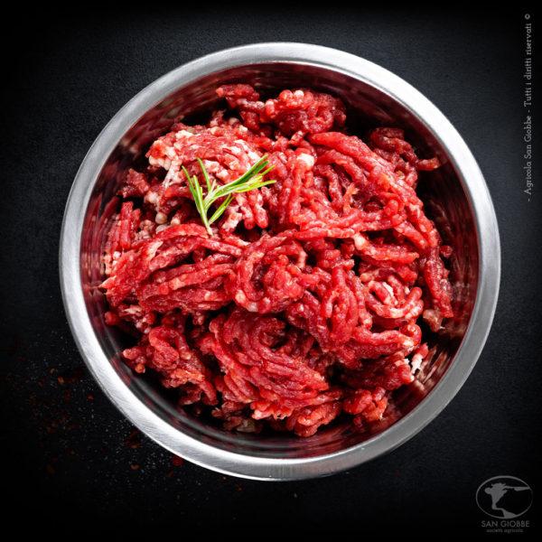 Macinato di carne di chianina IGP - Agricola San Giobbe